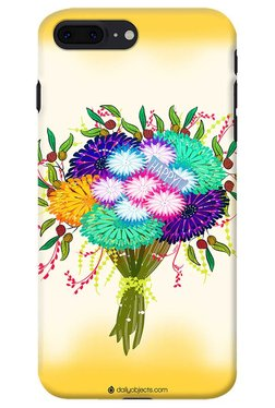DailyObjects Happy Flower Bouquet Case For IPhone 8 Plus