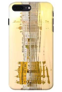 DailyObjects Golden Sunrise Golden Temple Case For IPhone 8 Plus