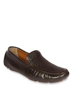 Ruosh Dark Brown Casual Loafers