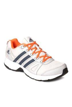 Adidas White   Navy Running Shoes ae7eeb1e7
