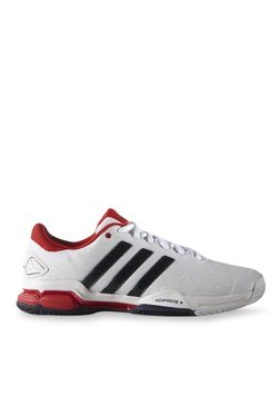 ec7086b52753 Adidas Barricade Team 4 White Tennis Shoes for Men online in India ...