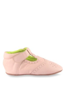 Beanz Angel Pramy Baby Pink Casual Boots