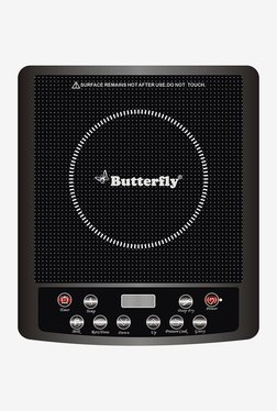 Butterfly Jet Electric Power Hob Induction Cook Stove(Black)