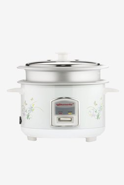 Butterfly KRC- 07 1 L Electric Rice Cooker (White)