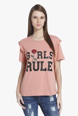 Only Rose Dawn Printed Top