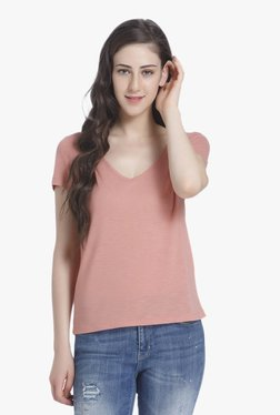Only Rose Dawn Textured Top