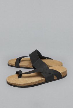 SOLEPLAY By Westside Black Sandals