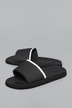 SOLEPLAY By Westside Black Sliders