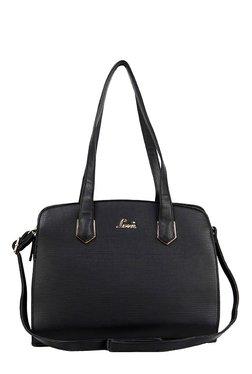 Lavie Nanigans Black Solid Shoulder Bag