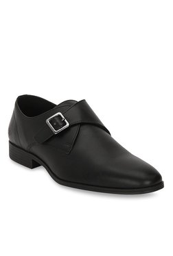 Bond Street By Red Tape Black Monk Shoes
