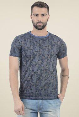 Pepe Jeans Navy Slim Fit Printed T-Shirt