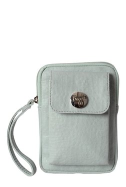Baggit LMP Aston Sperry Ice Blue Solid Wristlet