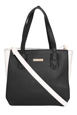 Addons Black Solid Shoulder Bag - Mp000000001904437