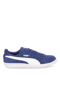 Puma Smash SD Blue Depth & White Sneakers
