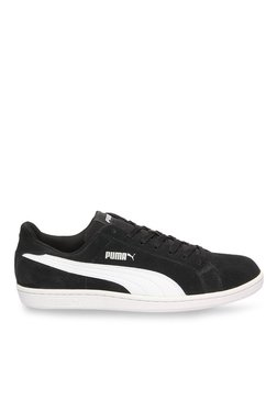 Puma Smash SD Black & White Sneakers