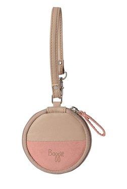 Baggit LMP Disc Emily L Pink Color Block Wristlet