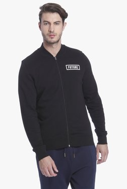 Jack & Jones Black Slim Fit Sweatshirt