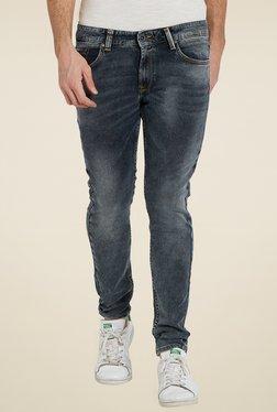 Spykar Navy Low Rise Super Skinny Fit Jeans