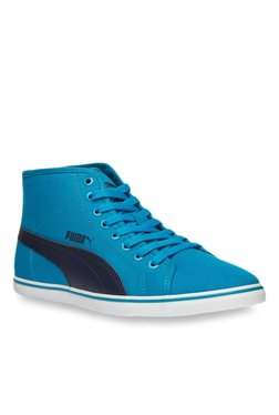 Puma Elsu V2 Mid Cv Dp Blue Sneakers for Men online in India at Best ... a2df2bdf1