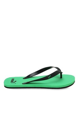 3909f9e6c0d Puma Odius Dp Black Flip Flops for Men online in India at Best price ...