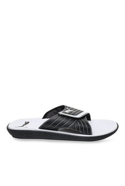 Puma Bow Cat IDP Black & White Casual Sandals
