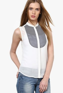 Only White Striped Shirt - Mp000000001916663