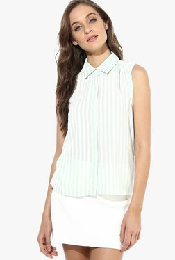 Only White Striped Shirt - Mp000000001916251