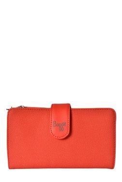 Baggit Melinda Dotty Tomato Red Textured Wallet