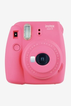 Fujifilm Instax Mini 9 Instant Camera  Flamingo Pink  Fujifilm Electronics TATA CLIQ