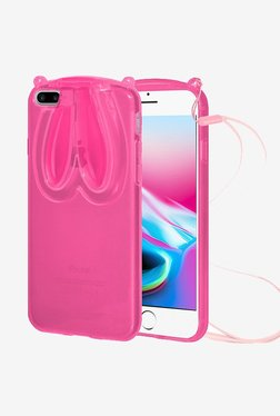 Amzer TPU Case With Rabbit Ears Pink For IPhone 8 Plus