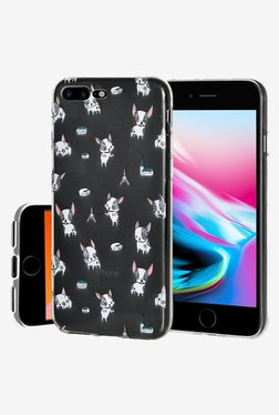 Amzer Modern Puppy Print Soft Gel TPU Skin Case For IPhone 8 Plus