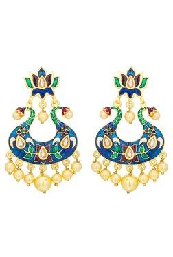 Luxor Multicolor Alloy Chandelier Earrings