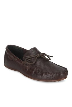Red Tape Dark Brown Boat Shoes