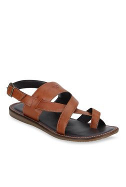 dd56b7dda Bond Street by Red Tape Tan Toe Ring Sandals