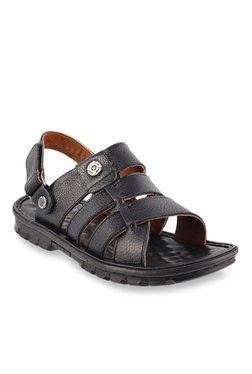 a7fff472a14 J. Fontini by Mochi Black Back Strap Sandals