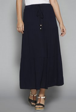 Gia Curve By Westside Navy Perkin Skirt