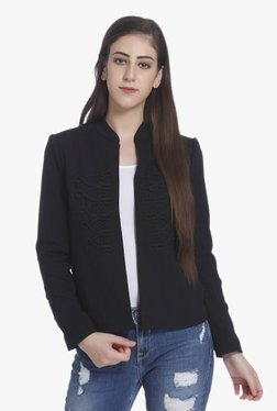 Only Black Embroidered Blazer