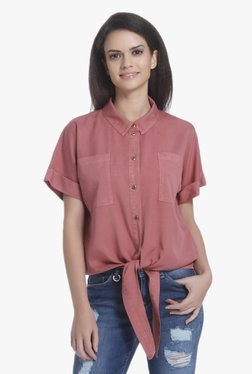 Only Pink Short Sleeves Shirt