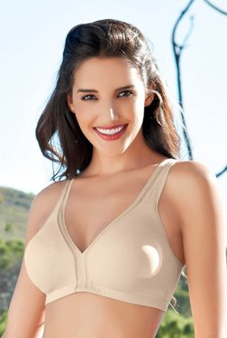 100a04263f Enamor Beige Non Wired Non Padded T-Shirt Bra