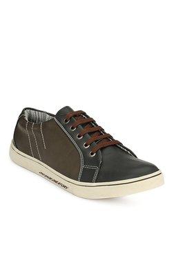 Prolific Dark Brown & Black Sneakers