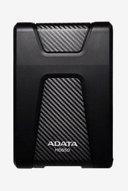 ADATA HD650 2 TB External Hard Drive (Black)