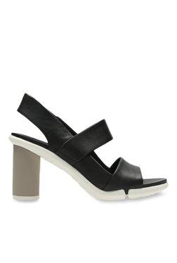 86b2bdd96213 Clarks Brielle Kae Black Sling Back Sandals for women - Get stylish ...