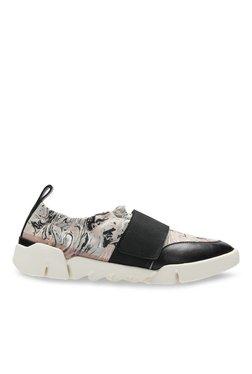 77e64d91d41477 Clarks Tri Gardenia Light Grey   Black Training Shoes