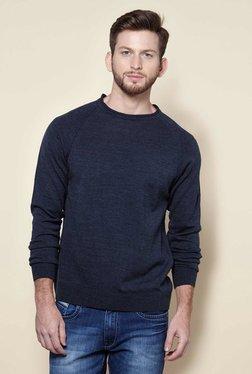 Zudio Navy Regular Fit Pullover