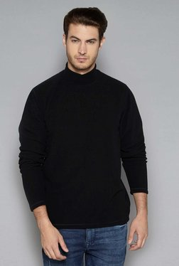Westsport Casual By Westside Black Relaxed Fit Pullover