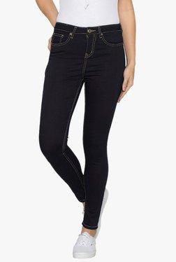 Globus Navy Skinny Fit Raw Denim Jeans