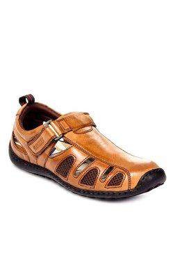 Pavers England Tan Fisherman Sandals