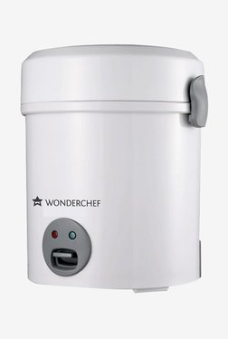 Wonderchef Mini 0.5 Litre Rice Cooker (Silver)