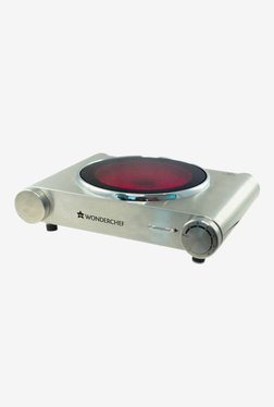 Wonderchef Ceramic Hot Plate Induction Cooktop (Silver)