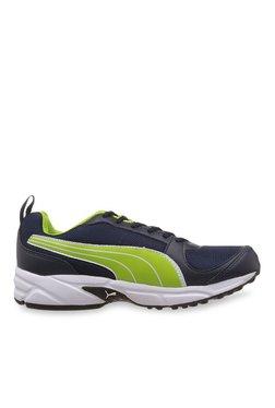 Puma Agility DP Dark Denim & Lime Punch Running Shoes